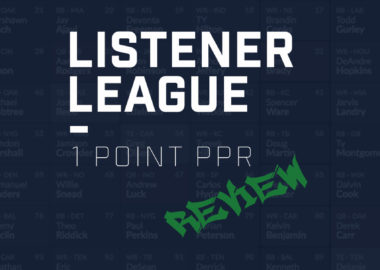 Listener League 1 Point PPR - Review