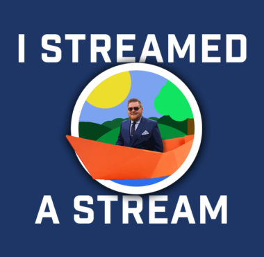 I Streamed a Stream with Logo