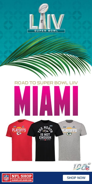 NFL Shop Europe - Road to Miami