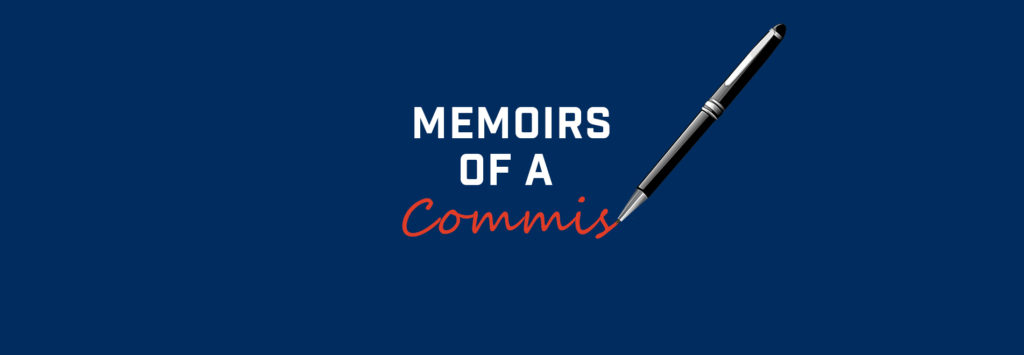 Memoirs of a Commish