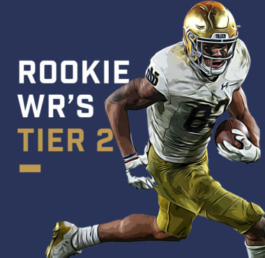 Rookie WRs Tier 2