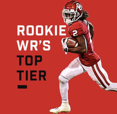 Rookie WRs Top Tier