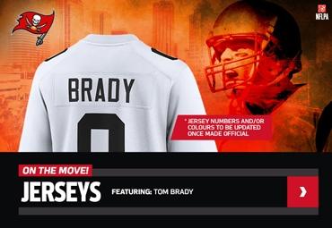 NFL Shop Europe Tom Brady Jersey Tampa Bay