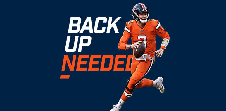 Back Up Needed - Drew Lock
