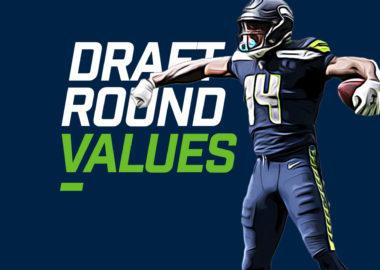 Draft Round Values - DK Mtecalf
