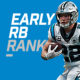 Early Runningback Rankings - CMC