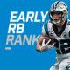 Early Runningback Rankings - CMC