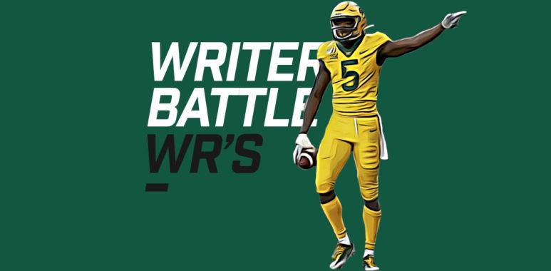 Writers Battle WRs season winners - Denzel Mims