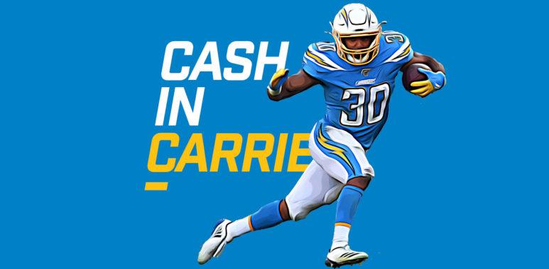 Cash in Carries - Austin Eckler