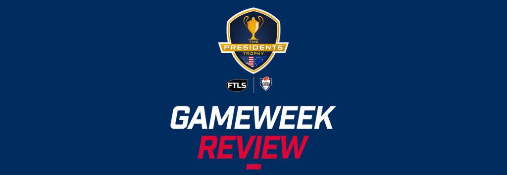 Presidents Trophy Gameweek Review